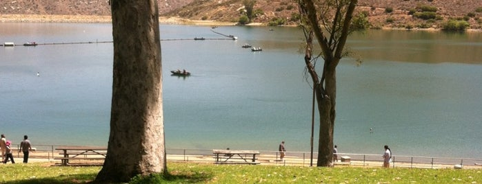Lake Poway is one of California.