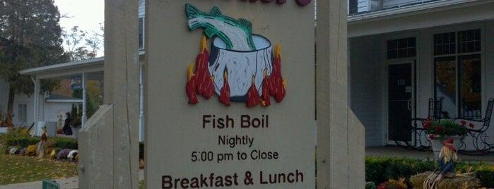 Pelletier's Restaurant & Fish Boil is one of Door County.