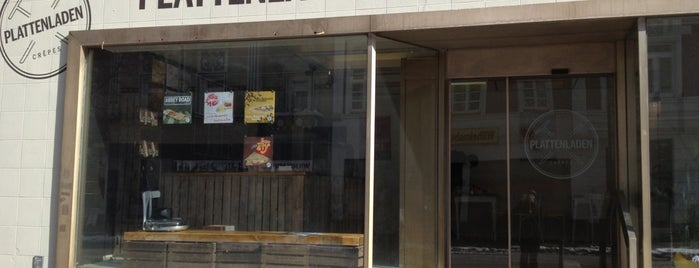 Plattenladen Crêpescafé is one of #ThirdWaveWichteln Coffee Places.