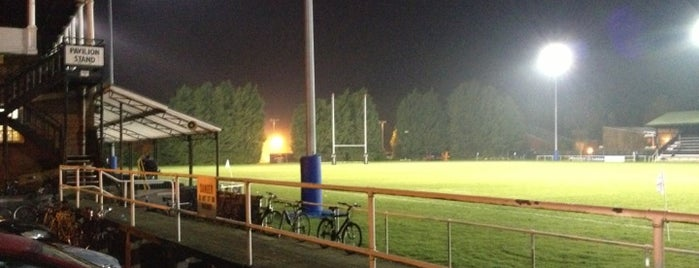 Cambridge University Rugby Club is one of Posti che sono piaciuti a Carl.