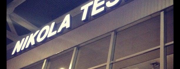Nikola Tesla Airport is one of Ulaşım Noktaları.