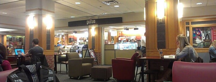 Pulse at the Kansas Union is one of Campus Dining.