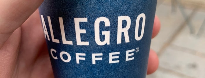 Allegro Coffee Company is one of Better Than Starbucks - NYC.