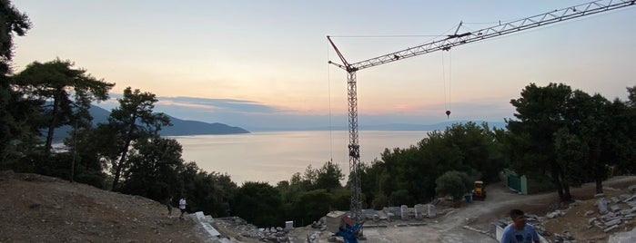 Ancient Theatre is one of Thassos 2016.