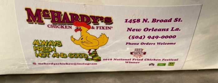 McHardy's is one of New Orleans, LA.
