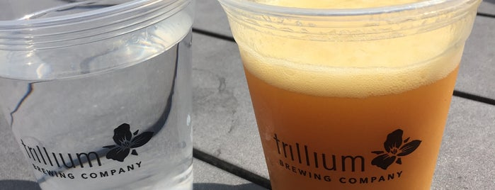 Trillium Brewing Company is one of TODO Boston.