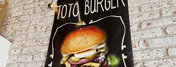 Toto's Burger Bar is one of Ex-US.