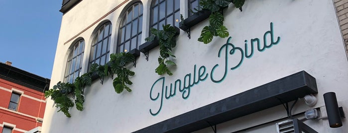 Jungle Bird is one of Manhattan's Top 100 Cocktail Bars 🥃.