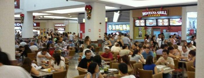 Praça de Alimentação is one of Vale Sul Shopping. baf3da73bb81d