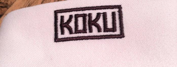 KOKU is one of Lugares favoritos de Ale.