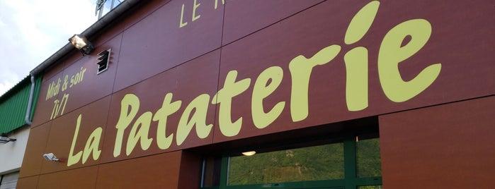 La Pataterie is one of RestO.