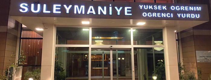 Süleymaniye Yüksek Öğrenim Öğrenci Yurdu is one of Ahmet Celil 님이 좋아한 장소.