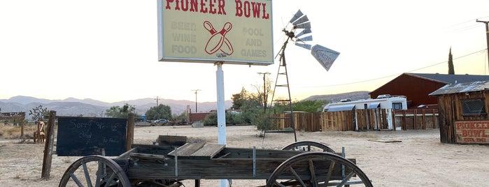 Pioneer Town is one of Cali.