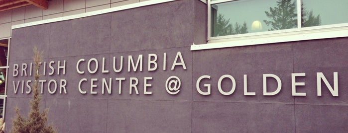 British Columbia Visitor Centre @ Golden is one of British Columbia Visitor Centres.