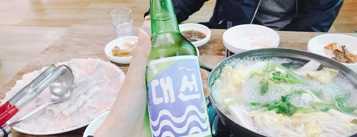 미성식당 is one of 구도심 음식점들.