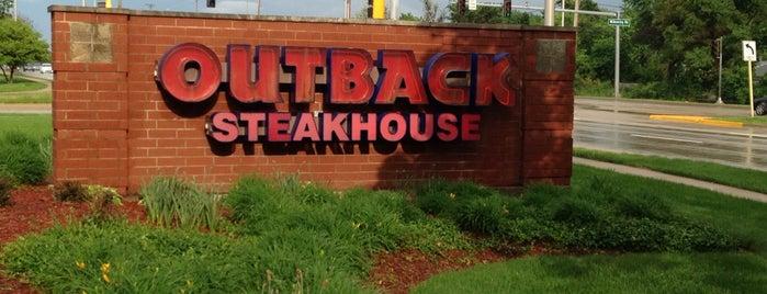 Outback Steakhouse is one of Posti che sono piaciuti a Derek.