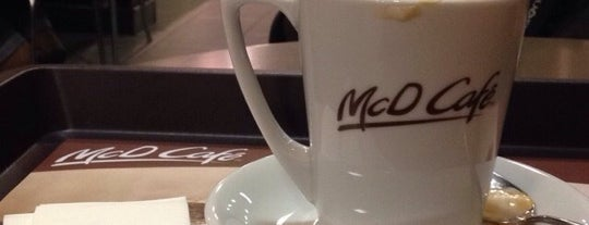 McD Café is one of Istanbul.