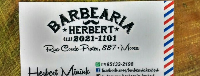 Barbearia Herbert is one of Orte, die Rodrigo gefallen.
