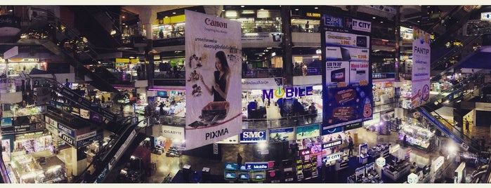 The Platinum Fashion Mall is one of Bangkok.