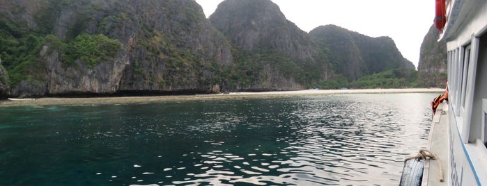 Maya Bay is one of Andaman Coast.