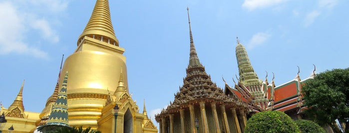 The Grand Palace is one of Bangkok.