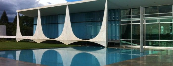 Palácio da Alvorada is one of Brasilia, Brazil.