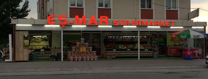 Eş-mar Süper Markett is one of Hakan : понравившиеся места.