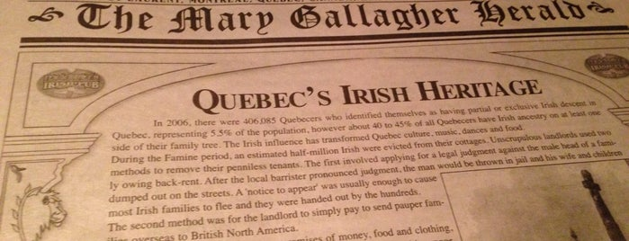 McKibbin's Irish Pub is one of Best Terrasses in Montreal.