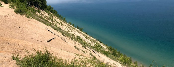 Pyramid Point Lookout is one of Michigan Camping.