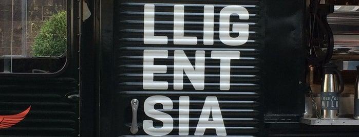 Intelligentsia Coffee is one of NYC  cafe / coffee lovers (esp soy milk drinkers).