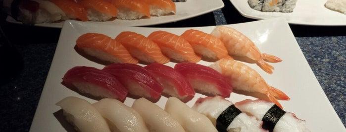 Wasabi Sushi is one of Locais salvos de Dave.