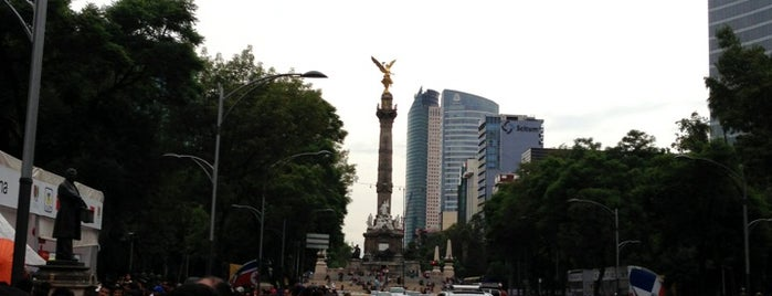Av. Paseo de la Reforma is one of Some best places of Mexico City..