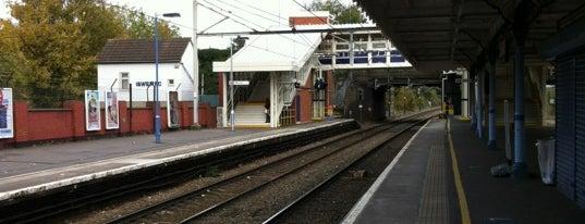 Chadwell Heath Railway Station (CTH) is one of TFL Elizabeth Line Stations.