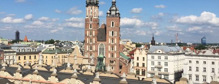 Wieża Ratuszowa is one of UNESCO World Heritage Sites in Eastern Europe.