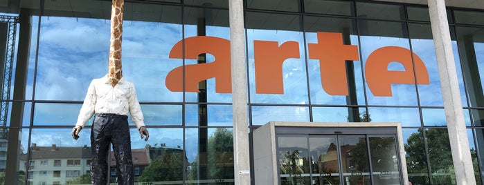 ARTE is one of Strasbourg 2018.