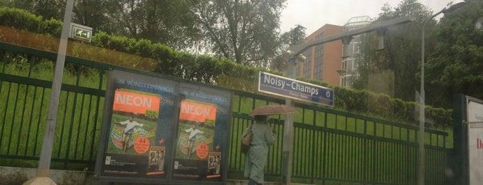 RER Noisy – Champs [A] is one of j'ai été.