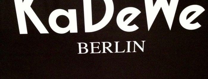 Kaufhaus des Westens (KaDeWe) is one of Berlin.