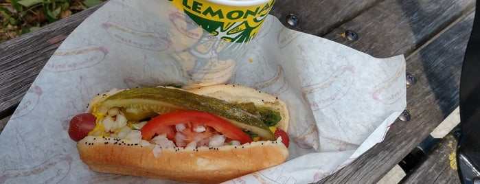 Relish Chicago Hot Dog Stand is one of Phil'in Beğendiği Mekanlar.