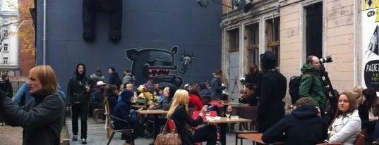 Kaņepes Kultūras centrs | KKC is one of Cafes.Riga.
