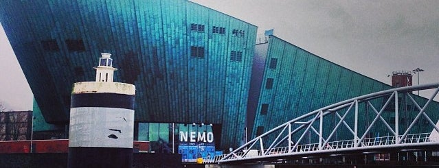 NEMO Science Museum is one of Musea Amsterdam.