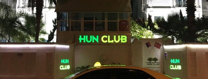 hun life club antalya is one of Tempat yang Disukai Tatiana.