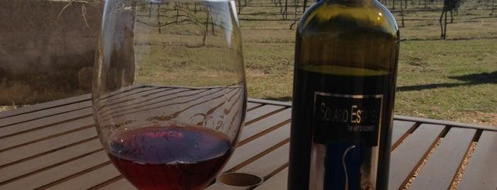 Solaro Estate Winery is one of สถานที่ที่บันทึกไว้ของ Daniel.