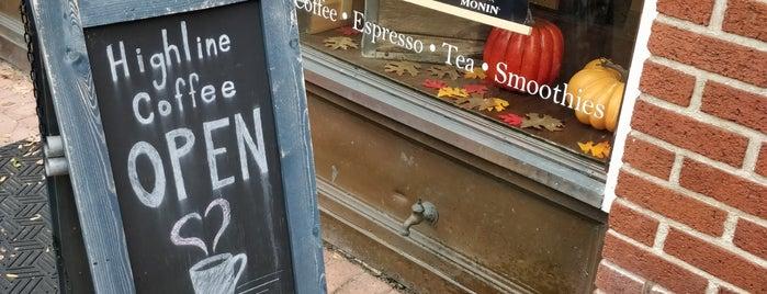 Highline Coffee Co. is one of Orte, die Dave gefallen.