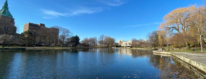 Wade Park Lagoon is one of Tempat yang Disukai John.
