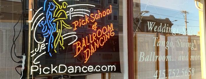 Pick School of Ballroom Dancing is one of SF Bay Latin Dance.