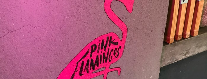 Pink Flamingos is one of 2019 Forever Puerquito.