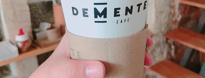 Demente Café is one of Need to Visit.