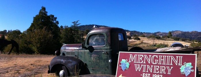 Menghini Winery is one of San Diego Wine Country.