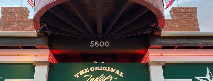 Saltgrass Steak House is one of Texas Favorites.