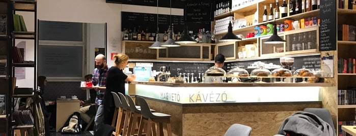 Magvető Café is one of Locais curtidos por Martin.